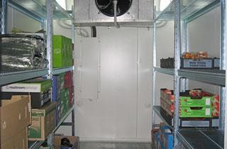 ARE ALL COOLROOMS/FREEZERS FITTED WITH SHELVING